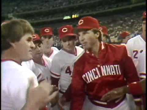 CINCINNATI REDS: Pete Rose, 4192 Record Breaking Hit of 1985