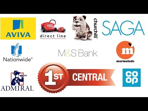 |CAR INSURANCE| ♥ TOP 10 CAR INSURANCE ☀️ LIST OF BEST INSURANCE COMPANIES IN U.K 2016