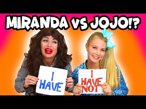 JoJo Siwa vs Miranda Sings? Never Have I Ever. Totally TV