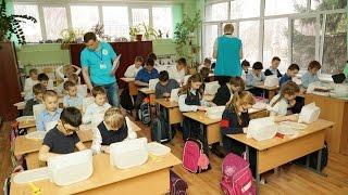 Отбор детей на Фестиваль Лего в лицее №10