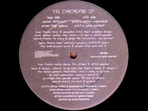 J.e.h.f.x - The Cyberland Ep - B2 - Juno Combat