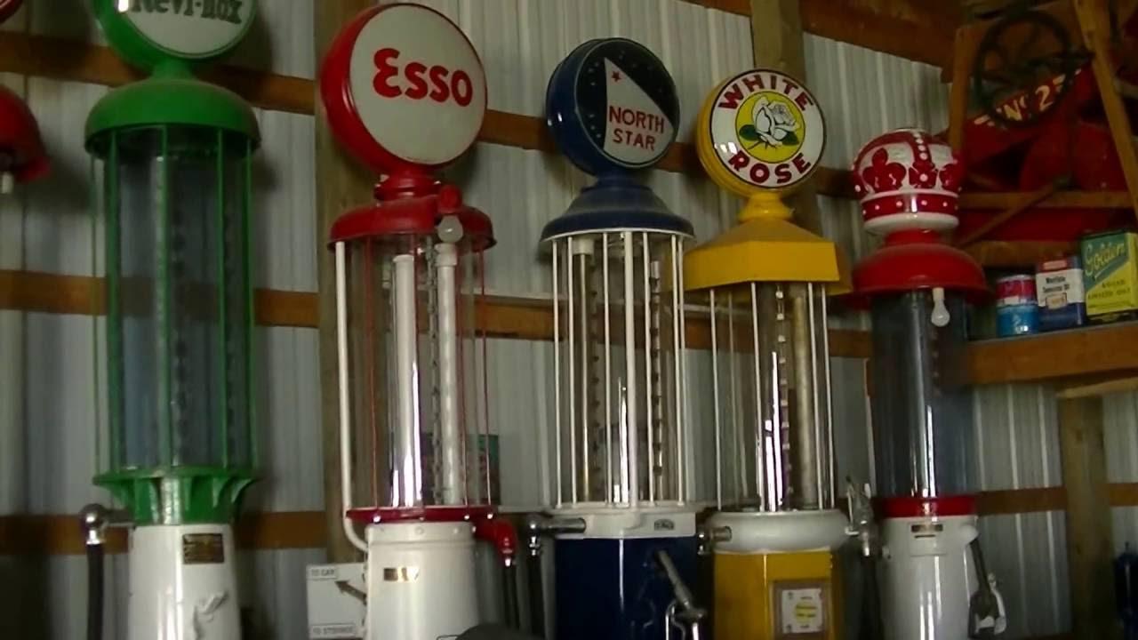 Vintage Fuel Bowsers/Visible gas pumps - zeketheantiquefreak