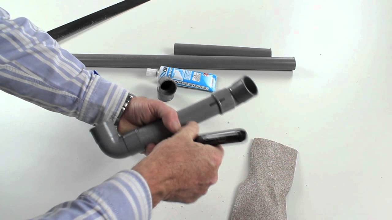 R aliser un raccordement pvc youtube - Comment enlever un tuyau pvc colle ...