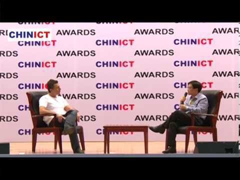 Yahoo's VP Chen Zhang talks with Franck Nazikian, founder of CHINICT.