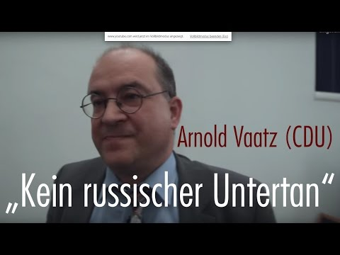 Doppelmoral mit MdB Arnold Vaatz: Russland vs. USA | Fragen über Fragen