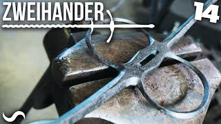 MAKING A ZWEIHANDER SWORD!!! Part 14