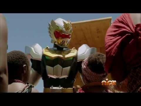 Power Rangers Megaforce - The Robo Knight Before Christmas - Robo Santa in Africa
