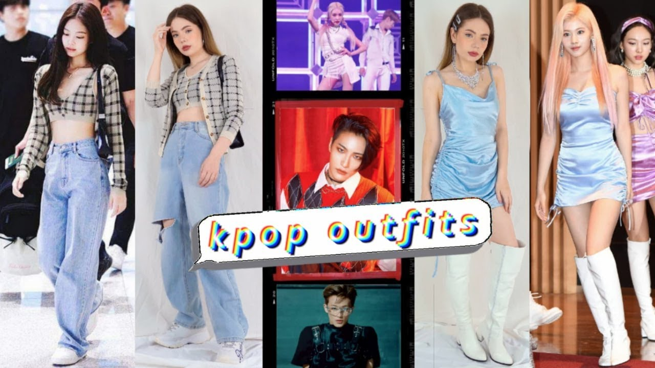Dressing like 6 Kpop Idols! Outfits Inspired by BTS, Blackpink & More!