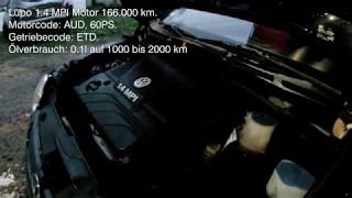 Lupo 1.4 MPI AUD Motor