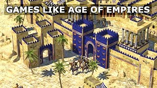 Top 10 Strategy Games Like Age Of Empires Pc - No Commentary