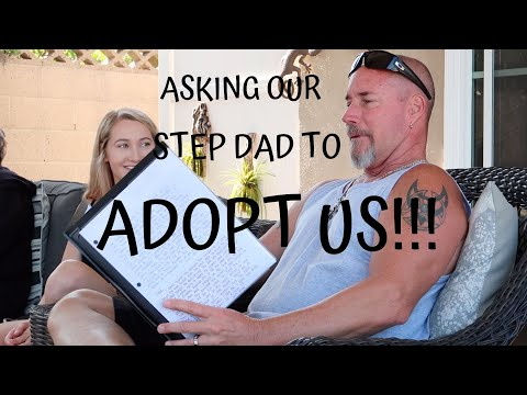 ASKING OUR STEP DAD TO ADOPT US: EMOTIONAL FATHER'S DAY GIFT