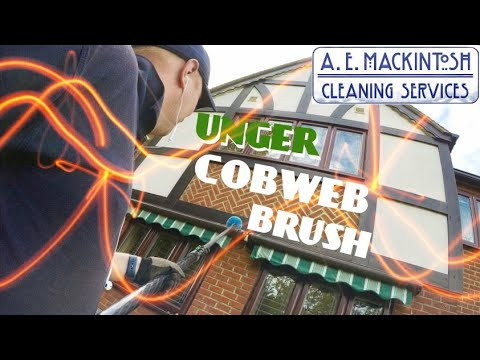 Using The Unger Cobweb Duster