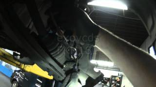 VW A3: Front Wheel Bearing Removing