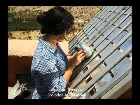 Outdoor Solar Mirrors testing