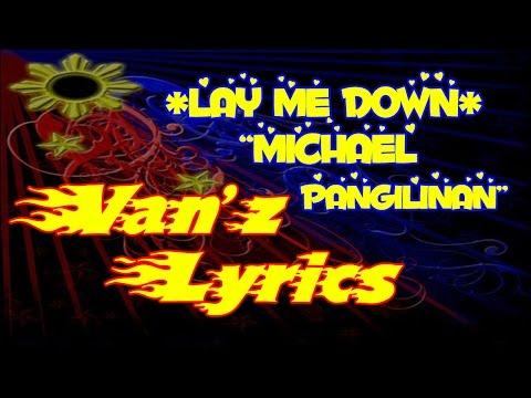 Michael Pangilinan Covers - Lay Me Down LYRICS (Sam Smith)