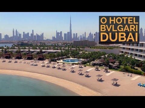 BVLGARI RESORT DUBAI - O hotel MAIS ESPETACULAR de Dubai!