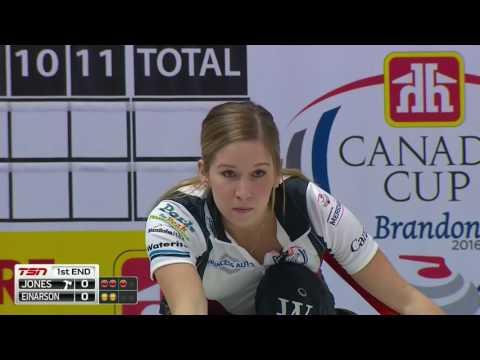 Jennifer Jones vs. Kerri Einarson - 2016 Home Hardware Canada Cup of Curling (Draw 6)