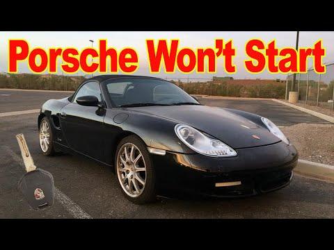 My Porsche Won't Start – How to fix a Porsche Boxster 986 or Porsche Carrera 911 996 Starting Issue