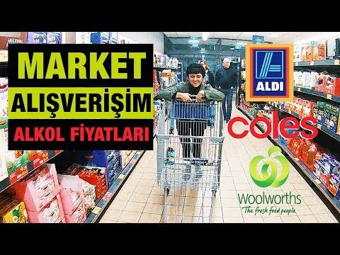 Avustralya Market Alışverişi | Alkol Fiyatları | Avustralya'da Yaşam
