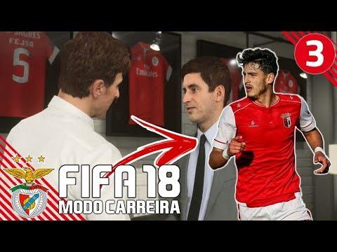 'XADAS VAI SER REFORÇO?'   FIFA 18 Modo Carreira (SL Benfica) #03