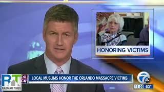 ABC7 : Niagara Falls Ahmadiyya Muslims hold vigil for Orlando victims