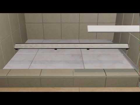 LATICRETE HYDRO BAN® Linear Drains