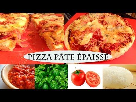 recette-pizza-pâte-épaisse-facile