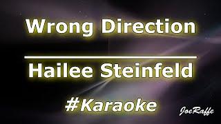 Hailee Steinfeld - Wrong Direction (Karaoke)