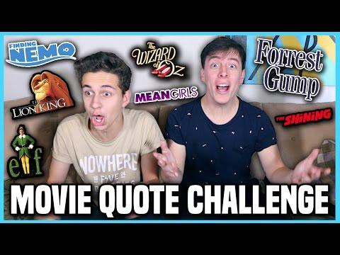 Movie Quote Challenge w/ Thomas Sanders