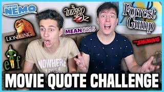 Movie Quote Challenge w/ Thomas Sanders