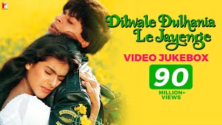 Dilwale Dulhania Le Jayenge Video Jukebox | Full Song | Jatin-Lalit | Shah Rukh Khan | Kajol | DDLJ