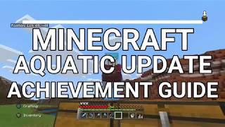 Minecraft Aquatic Update Achievement Guide