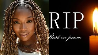 R.I.P. We Are Extremely Sad To Report About Death Of Brandy Norwood&#39 Beloved Co-Star.