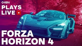 Forza Horizon 4: Full Build Exploration Livestream - IGN Plays Live
