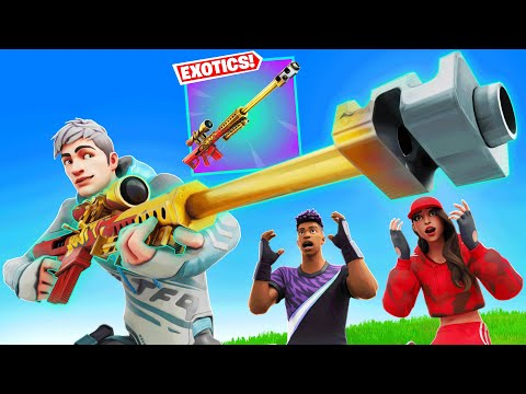 I Stream Sniped Typical Gamer and His GIRLFRIEND in Fortnite (he was SHOCKED)