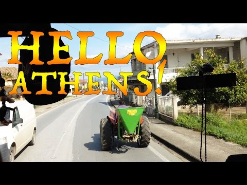 Hello Athens! - Travel VLOG 75 [GREECE] - The Way Away