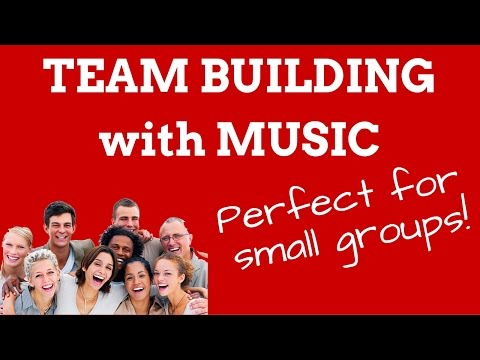 Meeting Ice-Breakers & Musical Teambuilding for Groups