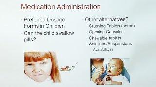 Medications in Kids