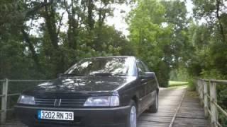 Adieu ma Peugeot 405....wmv