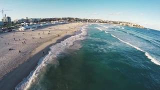 An Average Winter Day in BONDI BEACH - New South Wales.