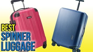 10 Best Spinner Luggage 2016