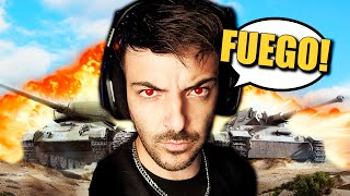 NEFA Y YO CONTRA TODOS LOS TANQUES!! XDDD - WORLD OF TANKS - Nexxuz