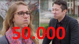 50000 Abonnenten auf YouTube - stern.de sagt Danke (Flachwitz-Challenge)