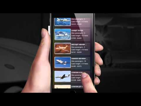 Mobile App for Private Jet FlightTime Air Charter