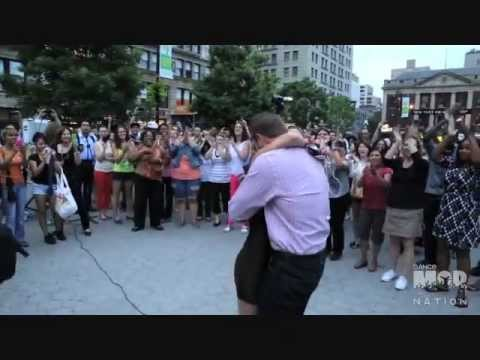Dance Mob Nation - David and Leila's Proposal Flash Mob