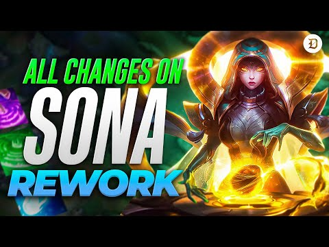 Sona Rework: All changes, abilities, stats, and more coming on patch 11.16