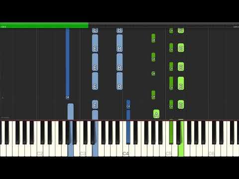Lin-Manuel Miranda - Dear Theodosia (from 'Hamilton') - Piano Cover Tutorials - Karaoke