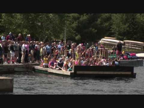 Algonquin Provincial Park Canoe Lake Taylor Statten Goodbye Camper Sendoff Canoe Lake