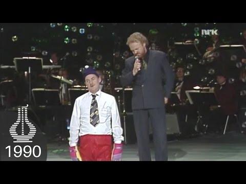 Viggo Sandvik og Eldar Vågan live under Spellemannprisen 1990
