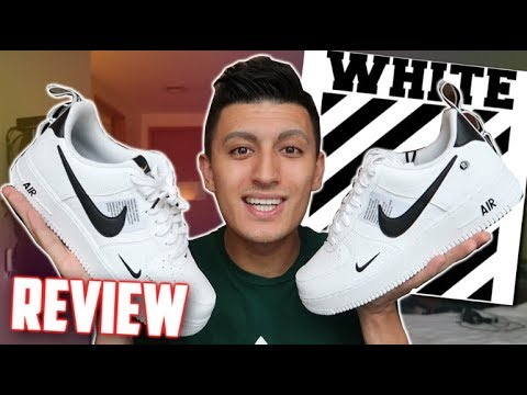 Watch SneakerTalk Nike Air Force 1 Low UTILITY REVIEW